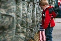 """♥♥♥~America~ Sweet Land of Liberty~♥♥♥ / Patriotism: """"love for or devotion to one's country.""""  I'm proud to be an American! I love my country, and  I support our soldiers who defend it.   I  agree with Merle Haggard...   """"IF YOU DON'T LOVE IT, LEAVE IT!"""" / by Anne"""