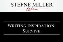 Writing Inspiration: Survive / Do you have characters fighting to survive? If so, this board might inspire you! survival. writing prompts. writing inspiration.