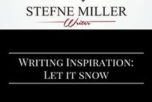 Writing Inspiration: Let It Snow / Writing a scene with snow? This board may inspire you! writing inspiration. writing prompt.