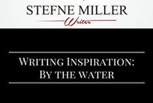 Writing Inspiration: By the Water / Writing a scene by the water? This board my inspire you! lakes. oceans. writing prompt. writing inspiration.