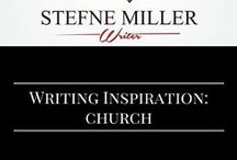 Writing Inspiration: Church / Is there a church in your story? This board may inspire you! writing prompt. writing inspiration.