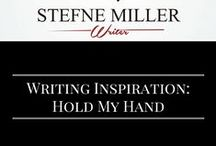 Writing Inspiration: Hold My Hand / Writing inspiration for holding hands. Writing Prompt.