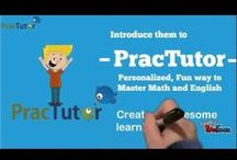 Back to School / This year celebrate #BackToSchool with PracTutor, the fun way to master Math and English.