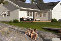 Långasand sommarhus / inspiration till hus i Halland