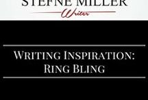Writing Inspiration: Ring Bling / Writing an engagement scene? Is your character trying to pick a ring? This board has writing inspiration. writing prompt.