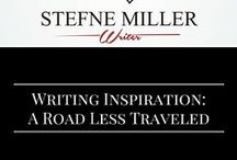 Writing Inspiration: A Road Less Traveled / Writing Inspiration. Writing prompts. Travel. Alone.