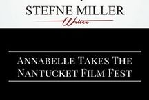 Annabelle at the Nantucket Film Festival / Annabelle Hooper and the Ghosts of Nantucket premiered at the NFF and we were there to celebrate it!