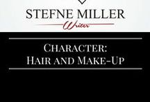 Character Hair and Make-Up / This character board is all about character inspiration via hair styles and make-up.