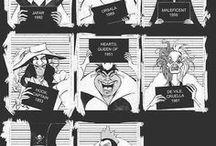 All the Disney Villains