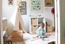 kid rooms / by Carly Edwards Bagley