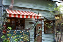 beautiful shops and restaurants / by moondance wear