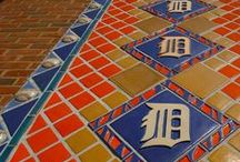 Pewabic Around Town / Pewabic has been in Detroit for awhile - since 1903 to be exact. Mary Chase Perry Stratton, the founder, was an innovative potter whose work was in high demand. Because of this, you can find historic and modern Pewabic all around Michigan and across the United States!
