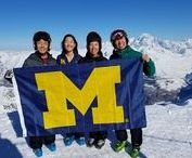 """Where in the World Is Blue? / With more than 550,000 living U-M alumni worldwide, there's no shortage of amazing photos featuring proud alumni sporting their maize and blue gear in unique locations. These photos come form submissions to our """"Where in the World Is Blue?"""" series featured in Michigan Alumnus Magazine."""