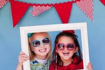 Bunting { Kids Parties } / Bunting and children....a match made in heaven!  Here's a few ideas for children's parties, which also happen to include the odd bit of bunting here and there! / by Tickety Boo Bunting