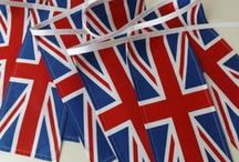 Bunting  { Union Jack/Patriotic } / by Tickety Boo Bunting