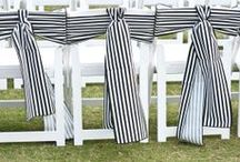 Black & White Wedding  / Sooo stylish! Partner with accents of silver, crystal or gold for major glamour! / by Tickety Boo Bunting