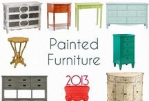 painted furniture / by Kim Hartmann