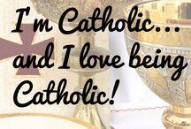 Catholic = Christian / Catholic architecture, artwork, books, media, saints, beliefs, etc..... / by Marcia C.