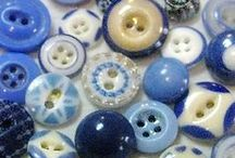 Grandma's button tin / Button, buttons, buttons / by Marcia C.