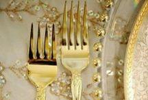 Gold Wedding / by Tickety Boo Bunting