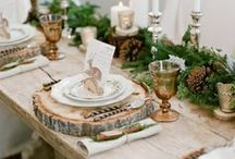 Rustic Wedding Inspiration / Cool rustic inspiration for your wedding. Our pins feature centerpieces, cake designs, wedding decor, wedding and bridesmaid's dresses and more!