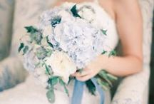 Blue Wedding Inspiration / Fabulous ideas and modern inspiration for your blue wedding color scheme. Our pins feature centerpieces, cake designs, wedding decor, wedding and bridesmaid's dresses and more!