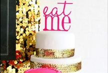 Party for her! / Gorgeous inspiration and ideas for a party for your girlfriend, sister, daughter, mother or any fabulous lady! Wedding shower, birthdays and celebrations for modern women.