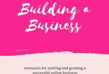 Building a Business / Tips and tricks to help you build a successful online business.