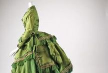 ancient love - 19th century / Victorian clothes from 1800's