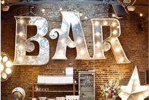 Wedding Trends { Light Up Letters } / Bold, Bright and Brilliant! :-)  / by Tickety Boo Bunting