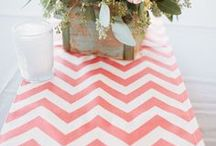 Chevrons Wedding / Chevron inspiration....can be bright and bold, subtle and stylish or really glitzy and glam!   / by Tickety Boo Bunting