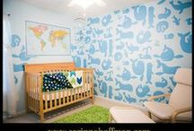 BABY SHOWER & NURSERY ROOM DETAILS / Baby shower party decoration, baby nursery decor, details.