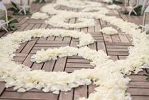 Wedding Trends {Aisle Petals} / Beautiful, delicate and full of scent, a perfect touch to a perfect wedding.  / by Tickety Boo Bunting