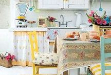 The Best Vintage Kitchen / We love vintage kitchens, retro kitchens, French cottage kitchens, country kitchens and rustic kitchens! If you're dreaming of a vintage inspired kitchen and want to stamp it with your personal style imprint then visit www.rubylane.com. You will find everything you need: antique and vintage furniture, linens, small appliances, kitchenware, table settings and more! #RLVintageKitchen @rubylanecom #VintageBeginsAtRubyLane / by Ruby Lane Vintage