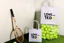 Game, Set, Match! / With Wimbledon on the horizon and Ted's tennis pop-up launching in Westfield London, Ted's celebrating all things tennis.   #AceTed / by Ted Baker