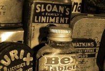 bottle mayhem / bottles, containers & vials (& maybe a few keys, cogs & gears) / by d