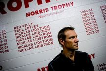 Nicklas Lidström / I am not a Red Wing fan, (even though I did support them in the 2008 Cup) but I will still miss Nick. Three words; World Class player / by Megan Malecha