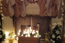 Mantels or is it Mantles (love them) / Seasons of mantel decor ideas! / by Val Roy