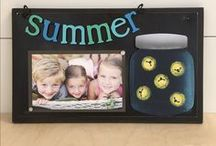 summer / summer celebrations and DIY crafts