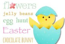 Easter / A collection of inspiring Easter products, craft ideas, food, etc.