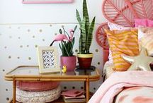 Home Inspiration / Interior and practical smaller items of furniture, home inspiration and living ideas.