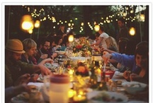 A Dinner Party / Recipes and ideas for celebrations at home.