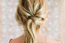 Hair / Hair styling inspiration and hair tutorials.