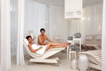"""Spa / You can enjoy unique attractions about warmth, water and wellness enjoy in the largest sauna paradise of the world. Here enchants the ROYAL DAY SPA """"Massage & Beauty"""" with an extraordinate SPA menu and you can dream in your private lounge in our exclusive ROYAL DAY SPA Lounge."""