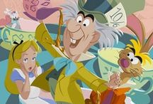 Disney: Alice in Wonderland / Focus is all characters or things pertaining to the classic movie, Alice In Wonderland.