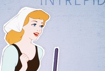 Disney: Cinderella / Focus is all characters from the classic movie, Cinderella.
