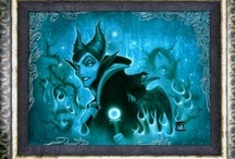 Disney: Maleficent (Sleeping Beauty) / Focus of the board is Maleficent - the villain of Sleeping Beauty.  And my favorite Disney Villain!