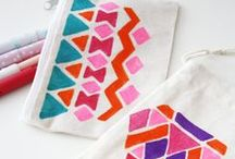 DIY: Textile Printing / Textile printing techniques and pattern inspiration.