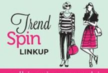 Trend Spin Linkup  / Find all of the pins from our Trend Spin Linkup collages. Look now for outfit details!