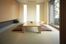 Tatami Room / inspiration for a Japanese tatami room (washitsu)